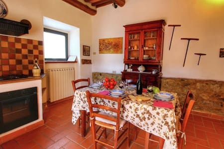 Salcio - Holiday Home in Val d'Orcia - San Quirico d'Orcia