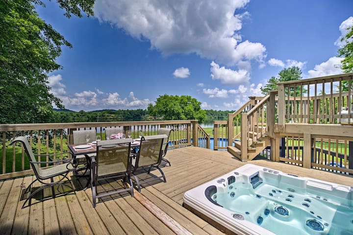 Riverfront Decatur Home w/ Private Pool & Dock!