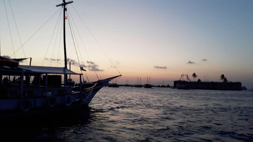 De Salvador para a Ilha de Itaparica