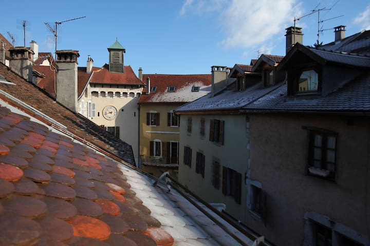 Charm and light in the old town of Annecy