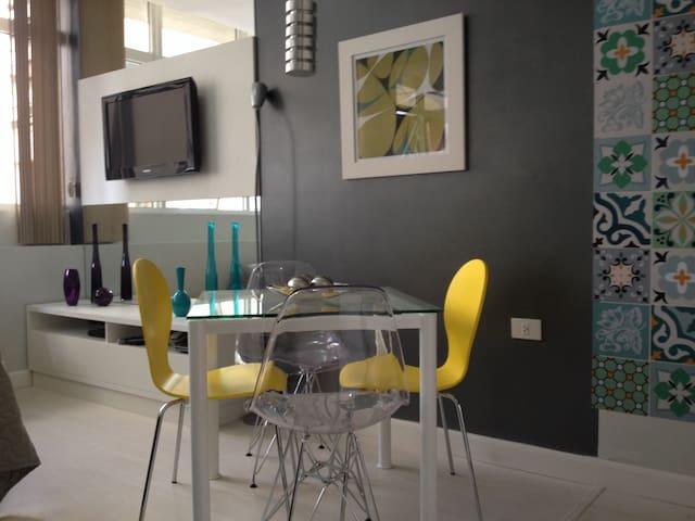 Moderno e aconchegante estúdio - Curitiba - Flat