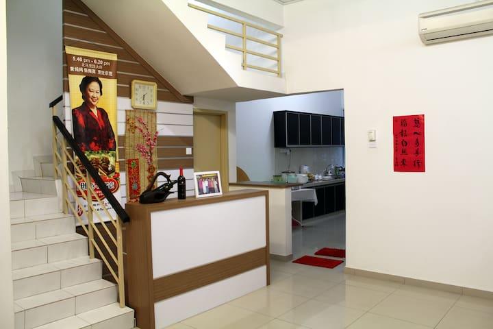 Family Room near BM Town, Free Wifi - Bukit Mertajam - House