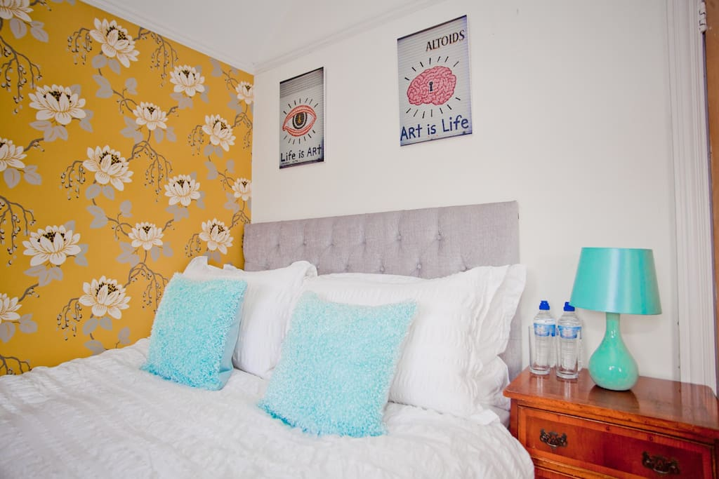 Cosy, boutique hotel style decorated double room