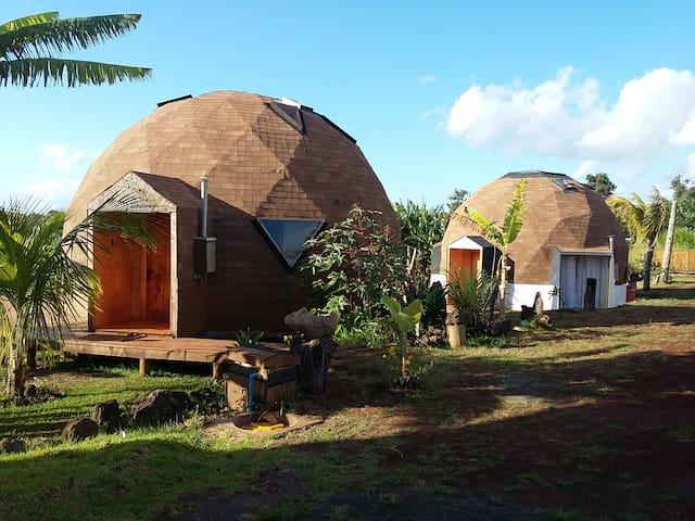 Domos isla de Pascua. 1 - Isla de Pascua - Cabana