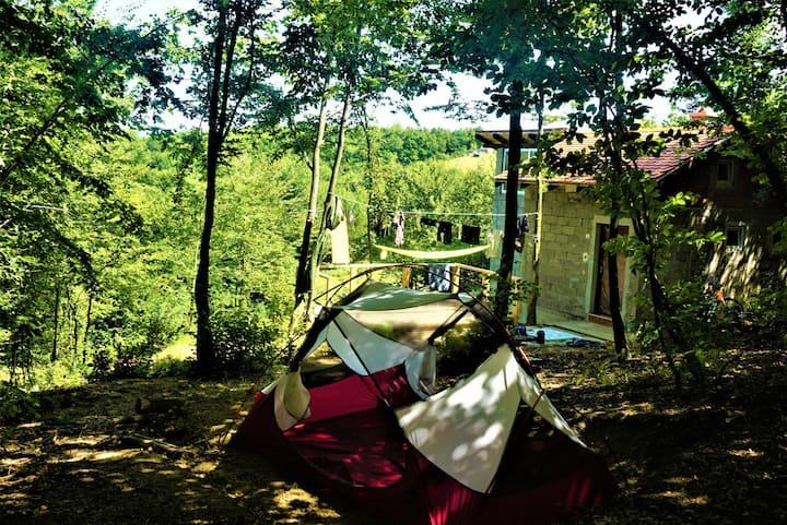 Sarajevo Camp by Tent