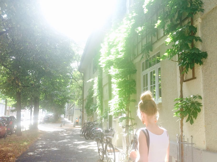 The Neighbourhood is just beautiful and filled with plenty of cute little shops and cafes. (Neuhausen- Nymphenburg)