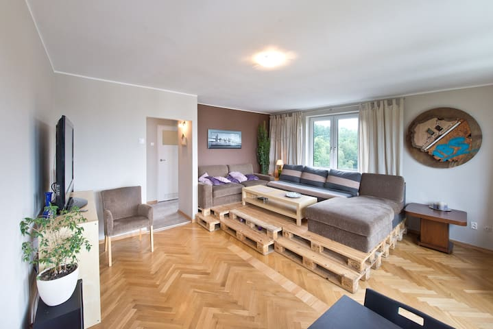 Przestronny apartament dla Ciebie! Seaview Apt! - Sopot - Appartement