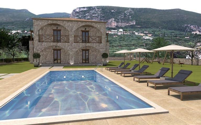 Villa Stagio when the natural beauty blends with the distinctive architectural aesthetics