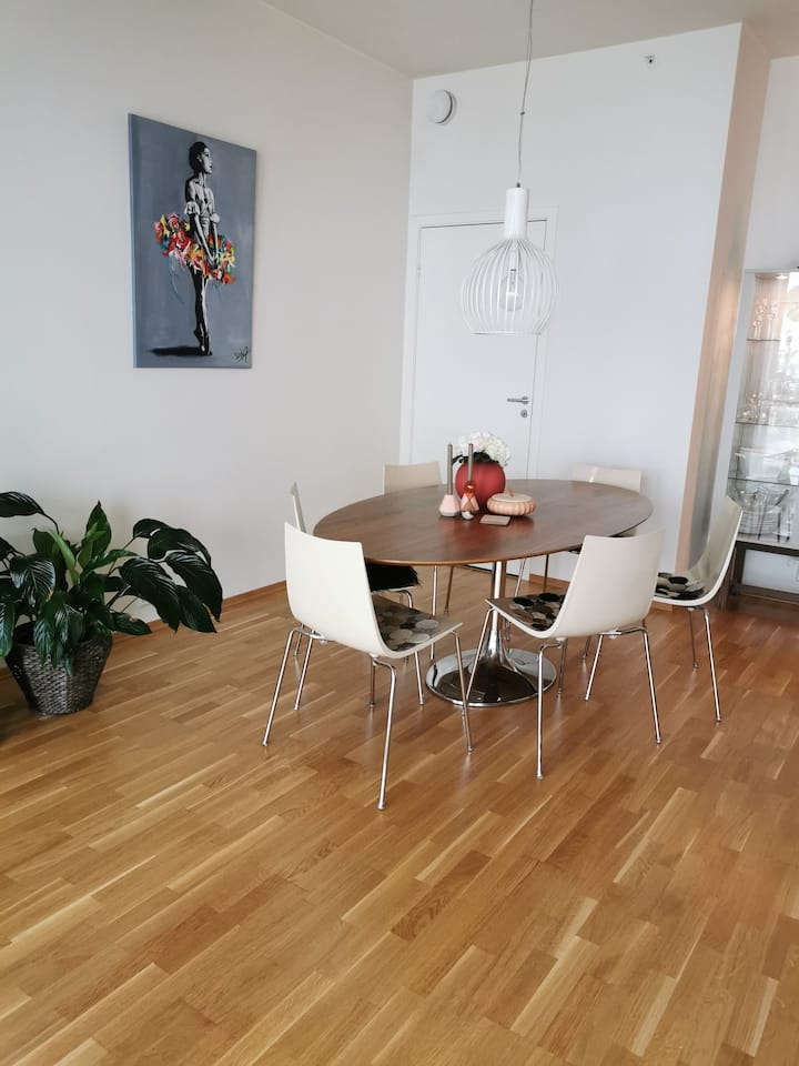 Modern and central appartement in Sandnes city