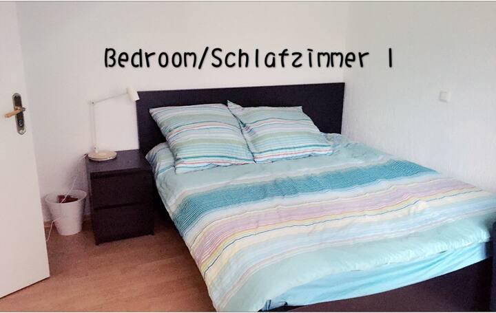Schöne Zimmer am Duisburg Hbf.