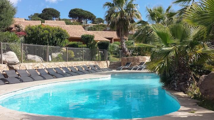 Villas dans Résidence Front de Mer avec Belle Vue