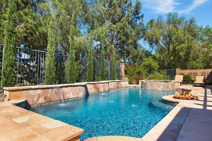 Beautiful Tuscan Villa Casita with pool and spa