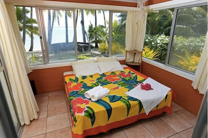 Marees beachfront bungalow - Arorangi District - Rumah