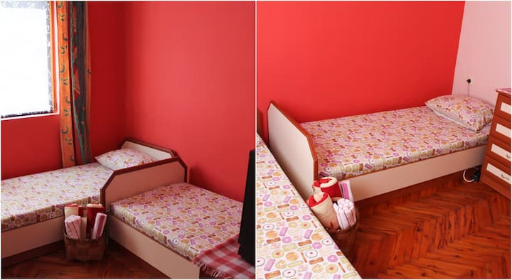 Two private bedrooms, Guesthouse Luiza, Pomorie
