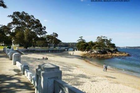 Tranquil Balmoral Beach Living - 莫斯曼