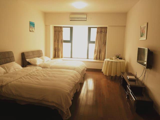 华发新天地商旅双床房 - Zhuhai - Apartment