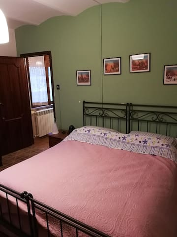 Camera con i 2 letti singoli (che si possono eventualmente  unire come in foto)