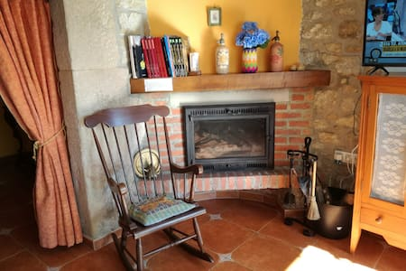 Casita rural con jardín en Argüero - Villaviciosa