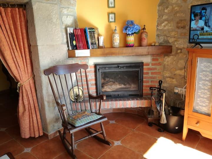 Casa rural con jardín Argüero - Villaviciosa-WIFI