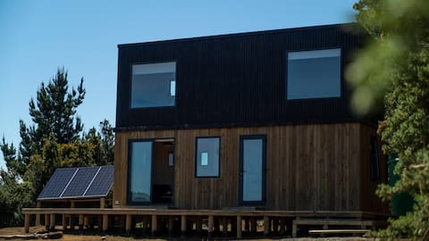 """Tiny House """"Malva_Lodge"""" en Mehuin Paraíso Natural"""