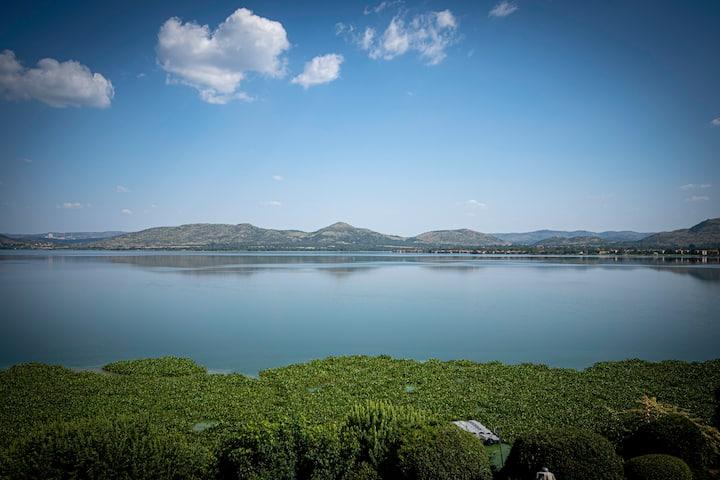 Best dam view in Kosmos