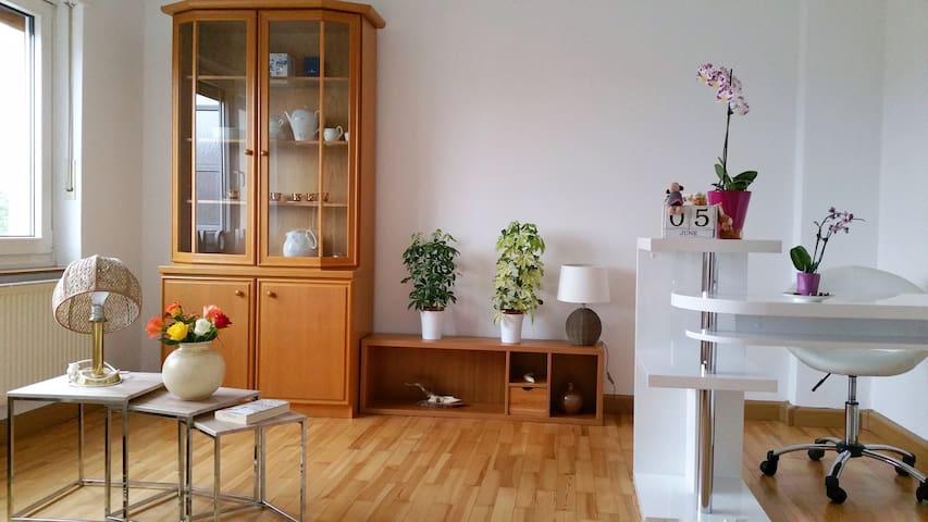 2 helle & geräumige Zimmer mit tollem Ausblick - Ansbach - Flat