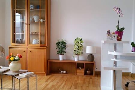 2 helle & geräumige Zimmer mit tollem Ausblick - Ansbach - Lejlighed