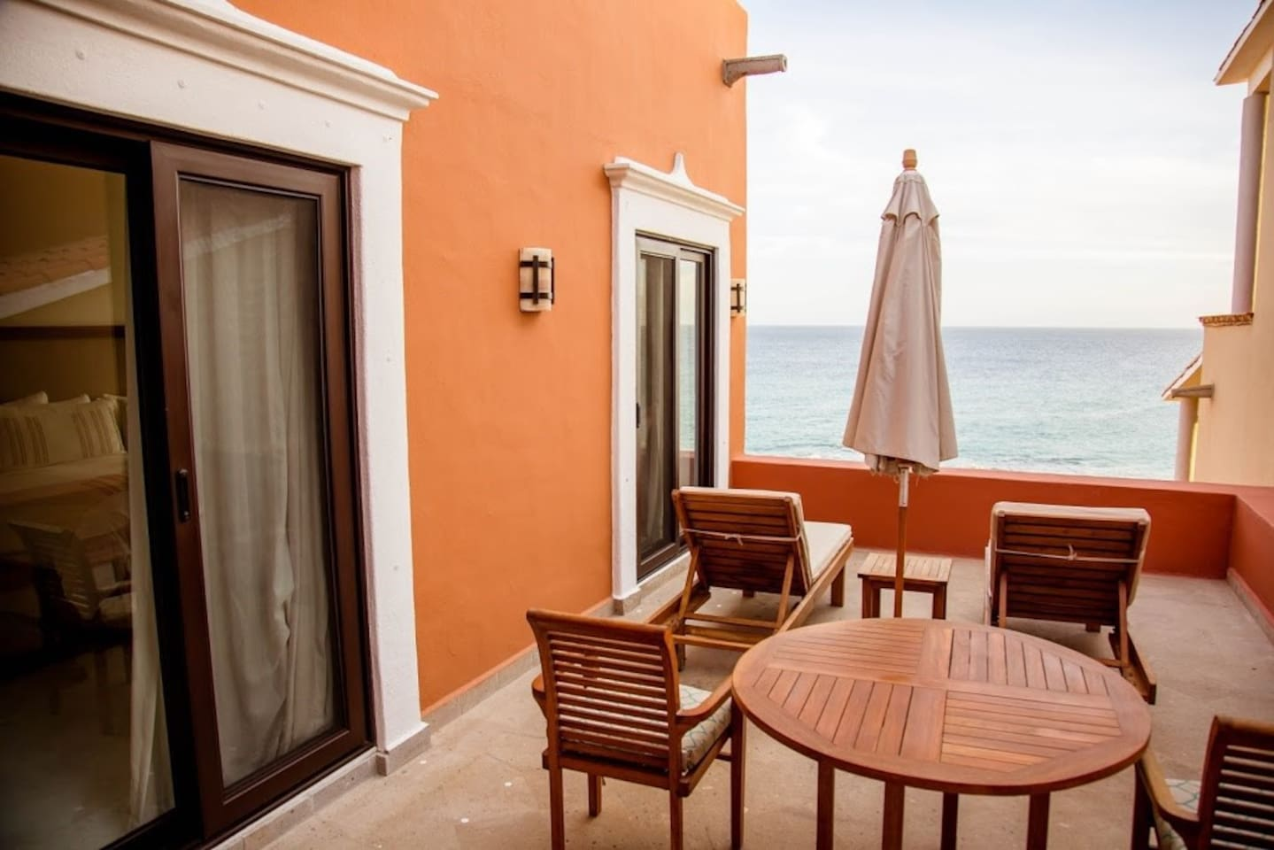 You will love our gorgeous ocean view terrace in Los Cabos!