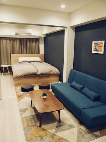 ★5 sec to station★Cozy apartment at Azabujuban★