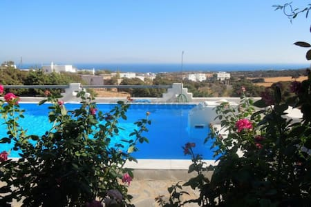 Cosy apartment by the pool in Paros - Pirgaki