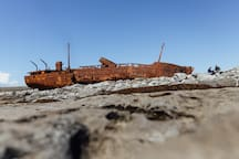 Plassey shipwreck on Inis Oirr