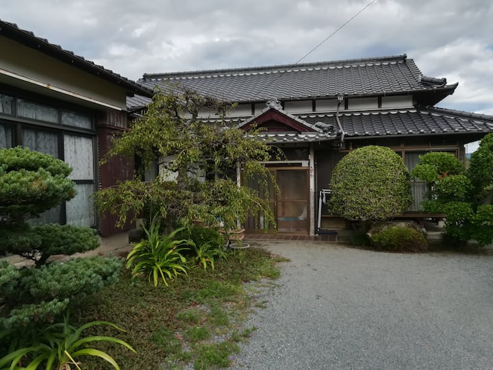Japanese old house in the countryside