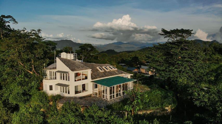The Rishikesh Earthship House