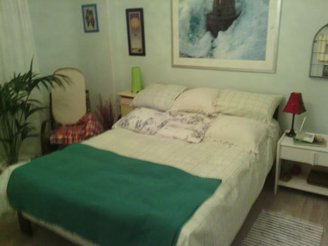 habitacion con cama matrimonial - Sestao - Lakás