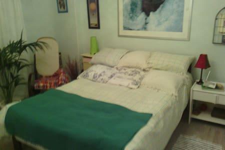habitacion con cama matrimonial - Sestao