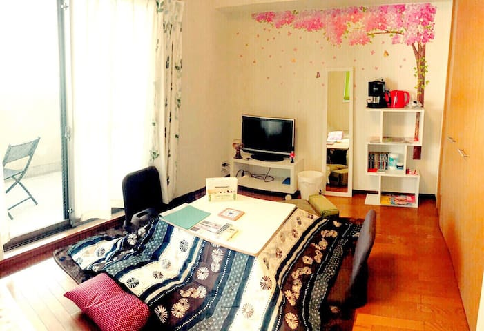 ASAKUSA St 5min PRIVATE COZY ROOM SkyTree - Sumida-ku