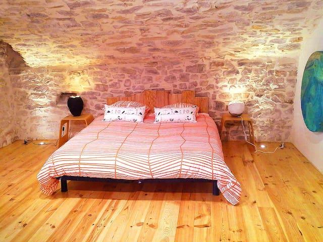 Maison atypique du 11e siècle - Logrian-Florian - Apartmen