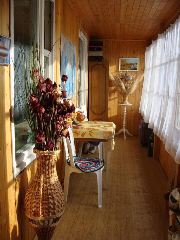 Сдам часть дома на Рублево-Успенскрм шоссе