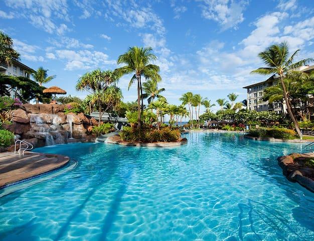 Studio Premium Villa, Oceanfront Westin Kã'anapali