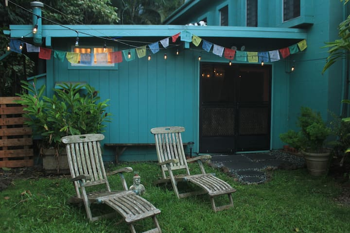 Comfortable Private Studio on Organic Farm - Waimanalo