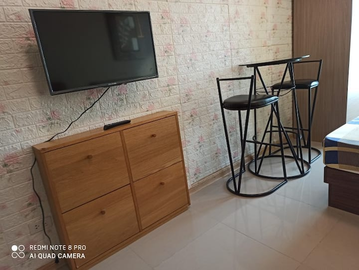 Studio for short or long-term rent in Quezon City