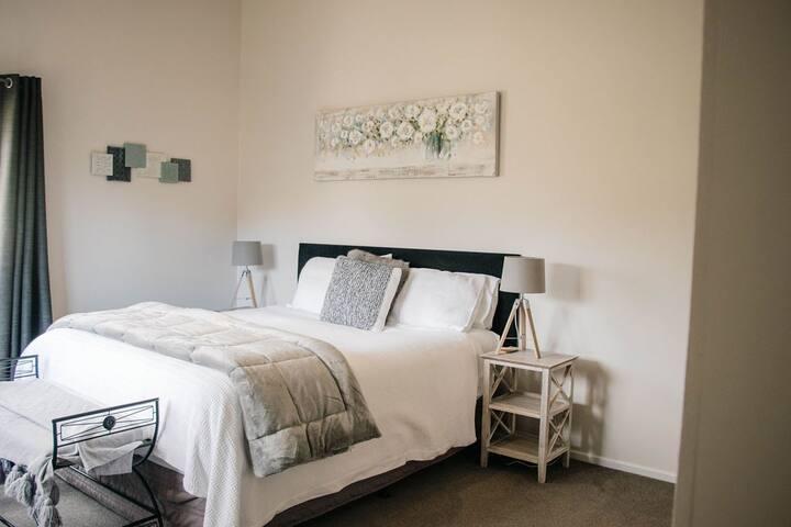 Bedroom 1. King Bed