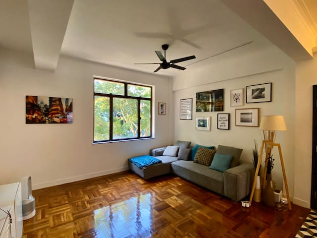 Spacious apt located in Central