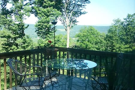 Spectacular 40-mile views from The Treetop