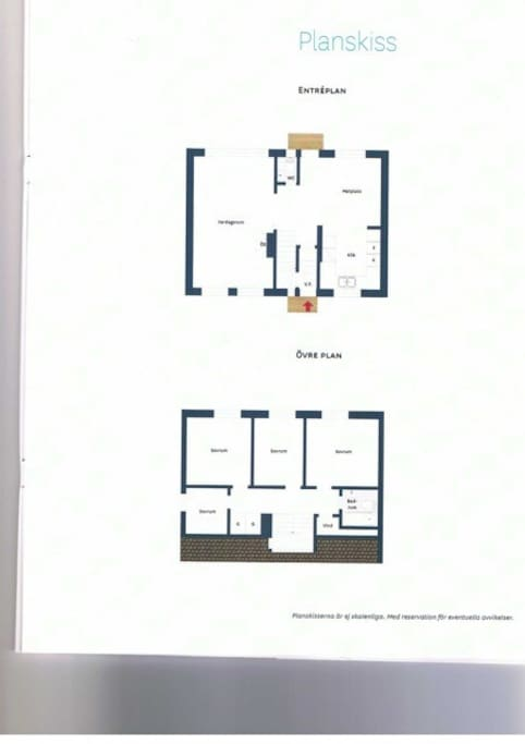 Nearest floor plan, north middle room, a medium sized double/single