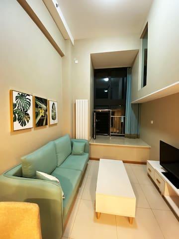 首都机场,空姐生活区中的舒适房间Cozy Room Beijing Capital Airport