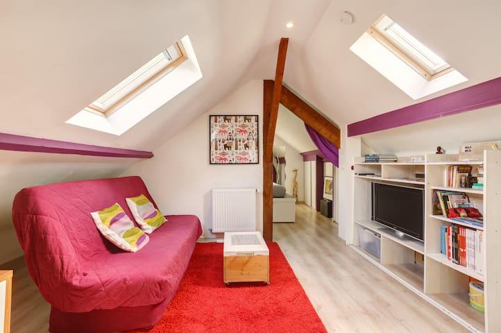Suite privée B&B dans maison à proximité de Paris