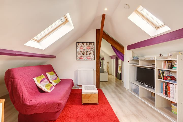 Suite dans maison, chez l'habitant, proche Paris