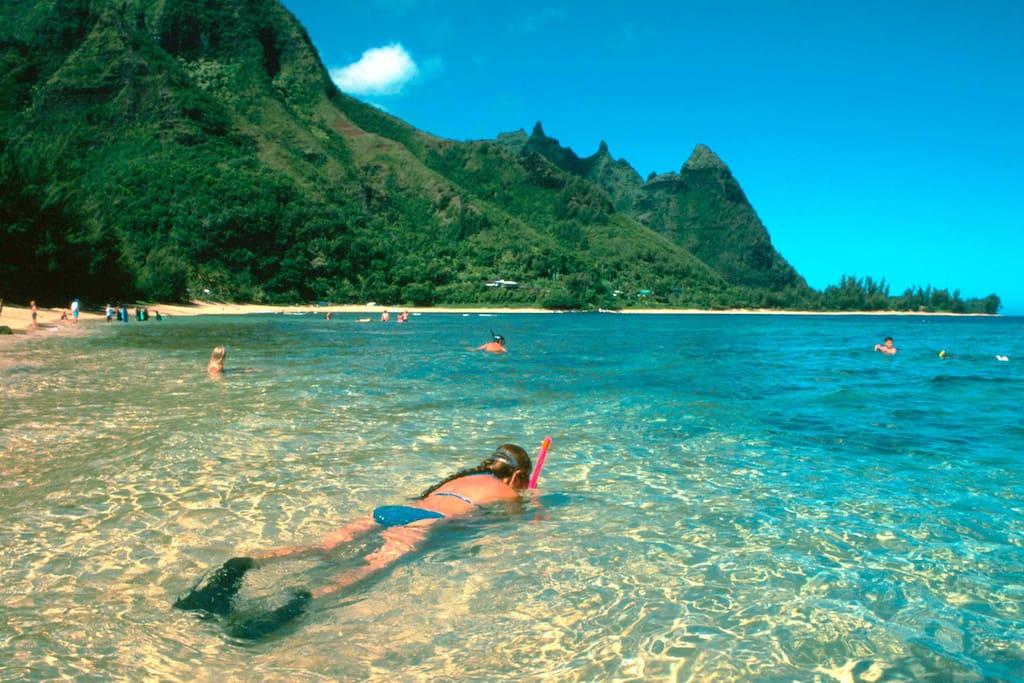 Stunning Hanalei Bay