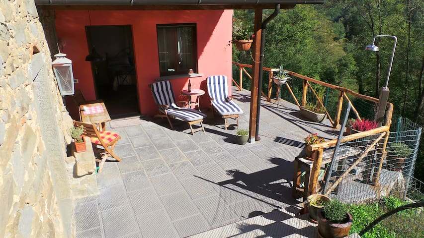 Little Tuscan Olive Farm - Cosy Apartment - Castelvecchio, Pescia - อพาร์ทเมนท์